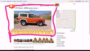 Damon Pace's Screenshot Of Phoenix.craigslist.org On 05/30/17.