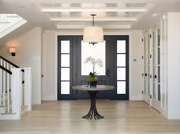 Foyer Table Ideas Entry Transitional With Pendant Lighting