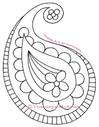 How To Draw Paisley Step By