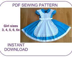 sizes belle blue village dress pdf sewing pattern 2017