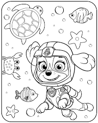 Great Printable Paw Patrol Coloring Pages Sheets Tracker