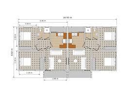 100 Semi Detached House Design Plan Detached Architectures Floor Stunning