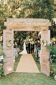 Would Be Great Not Just As A Wedding Entrance But For An To Garden Outdoor Rustic