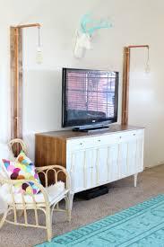 DIY Home Decor Inspiration Illustration Description Aqua Antlers