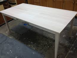 Maple Dining Table Customer Built Using Osborne Slides