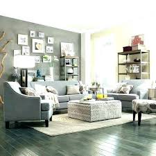 Gray Accent Wall Grey Living Room With In Modern