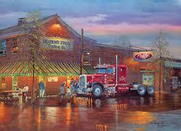 100 Richmond Trucking Big Red Jigsaw Puzzle PuzzleWarehousecom