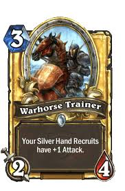 Thats One More Card To Put Silver Hand Recruits On The Board With And Two Buff Them Just Add Mysterious Challenger Package Baby