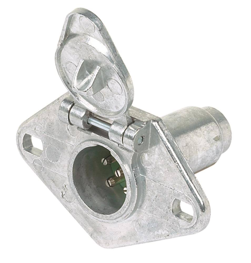 Hopkins Towing Solutions 6-Pole Round Socket Connector