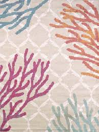 Coral Colored Decorative Items by Area Rugs Wonderful Nautical Rugs Amazon Balta Starfish Rug