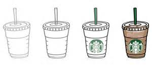 Starbucks Frappuccino Cup Drawing Loading