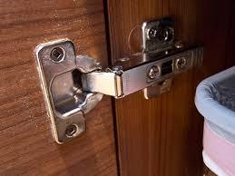 restricting cabinet door swing