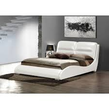 White King Headboard And Footboard by Lien White Twin Bed