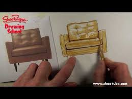 How To Trace Colour A Shiny Leather Chair