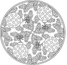 Amazing Coloring Christmas Mandalas Book For Adult Pages