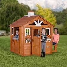 Backyard Discovery Summer Cottage Wooden Cedar Playhouse - Walmart.com Outdoor Play Walmartcom Childrens Wooden Playhouse Steveb Interior How To Make Indoor Kids Playhouses Toysrus Timberlake Backyard Discovery Inspiring Exterior Design For With Two View Contemporary Jen Joes Build Cascade Youtube Amazoncom Summer Cottage All Cedar Wood Home Decoration Raising Ducks Goods