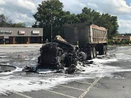 Truck Carrying Manure Catches Fire On Gordon Hwy.