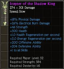 Tq Club L Scepter Of The Shadow King