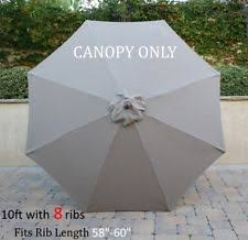 Patio Umbrella Canopy Replacement 6 Ribs 8ft by Patio Umbrella Replacement Canopy Ebay