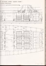 Titanic B Deck Plans by The Rms Queen Mary The Arts Mechanical