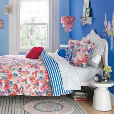 rosie floral cotton comforter and sham set twin twin xl