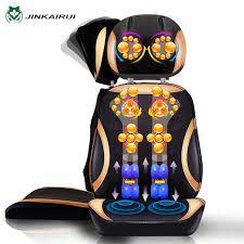 Back Massage Pads For Chairs by Jinkairui Vibrating Electric Cervical Neck Back Body Household