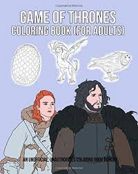 Game Of Thrones Coloring Book For Adults By Thomas Carter