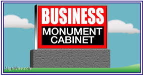 monument sign cabinets outdoor monument signs
