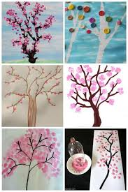 Spring Tree Art Projects For Kids To Make