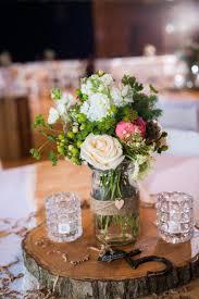 Wonderful Rustic Wedding Centerpieces