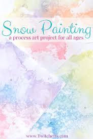 Colored Salt Snow Art