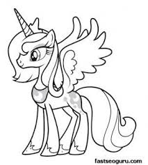 My Little Pony Unicorn Coloring Pages 26 Best Images On Pinterest