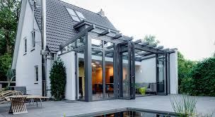 wohnraumerweiterung mit wintergärten solarlux