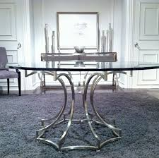 Drexel Heritage Sinuous Dresser by First Look Bernhardt Miramont Round Dining Table In Steel And