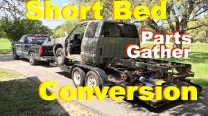 Chevy Long To Short Bed Conversion Part 1- Parts & Garage Updates ...