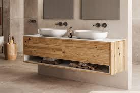 genero waschtischunterschrank aus massivholz lapidispa spa ambiente