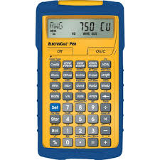 Home Depot Canada Flooring Calculator by Calculated Industries Electricalc Pro Calculator 5070 The Home Depot