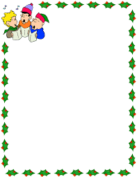 28 Collection Of Kids Christmas Border Clipart