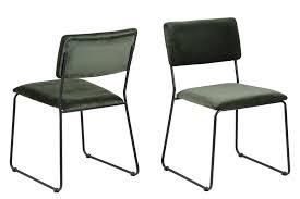 2x esszimmerstuhl corcica polsterstuhl küchenstuhl wohnzimmer stuhl stühle grün dynamic 24 de