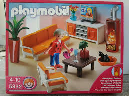 playmobil wohnzimmer 5332 in ovp