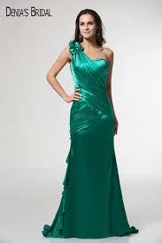 online get cheap green evening dress one shoulder aliexpress com