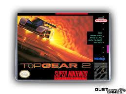 Top Gear 2 SNES Super Nintendo Game Case Box Cover Brand New Pro ...