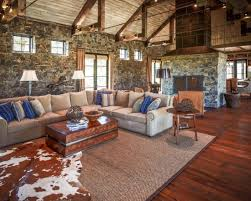 Rustic Rooms Comfortable Small Living Room Design