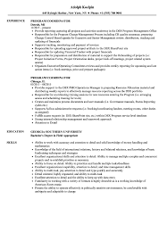 Program Coordinator Resume 10 Clinical Research Codinator Resume Proposal Sample Leer En Lnea Program Rumes Yedberglauf Recreation Samples Velvet Jobs Project Codinator Resume Top 8 Youth Program Samples Administrative New Patient Care 67 Cool Image Tourism Examples By Real People Marketing Projects Entrylevel Data Specialist Monstercom