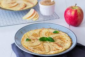 apfelpfannkuchen ohne zucker lecker und gesund