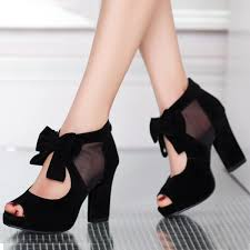 heels with chunky heel qu heel