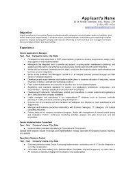 Sample Resume Cover Letter Information Technology Inspirationa Objectives Examples Bunch Ideas Of