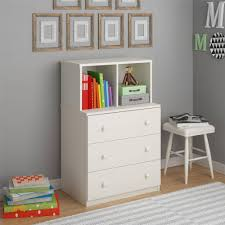 White 3 Drawer Dresser Walmart by Ameriwood Home Skyler 3 Drawer Dresser With Cubbies Multiple