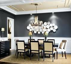 Accent Wall Decoration Dining Room 1 With Decorative Plates Artwork
