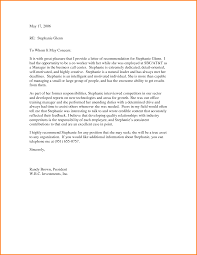 Recommendation Letter For Colleague Letters Of Recommendation